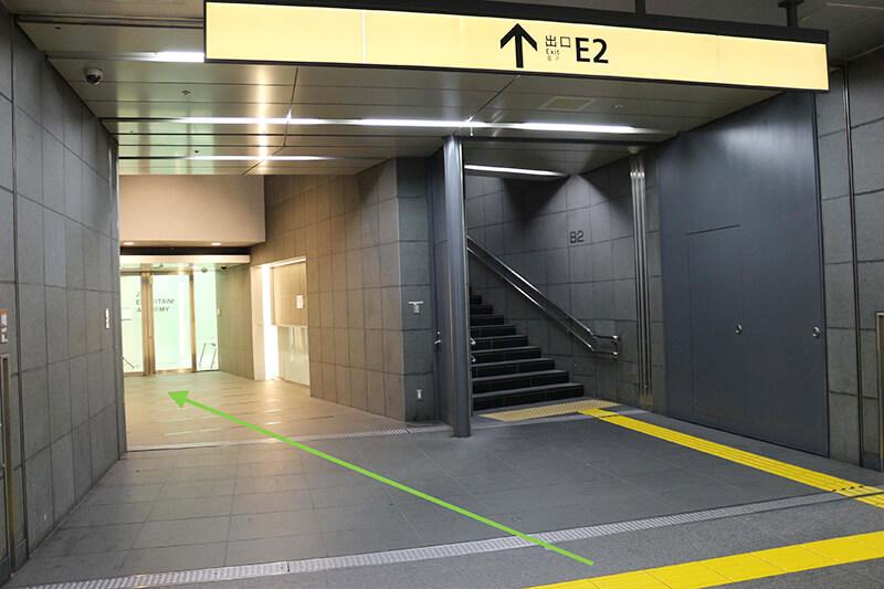 新宿スタジオインディ への行き方5