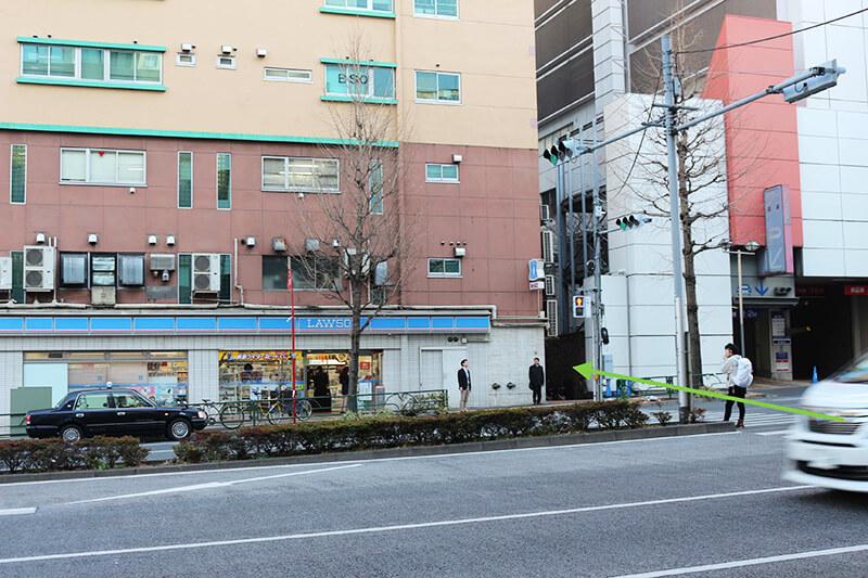 新宿スタジオインディ への行き方7